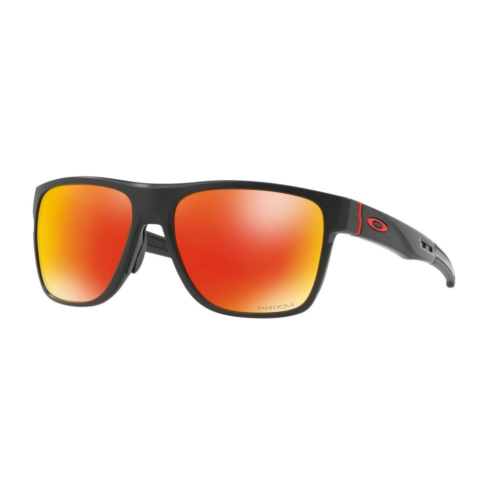 c14dbc56256 Oakley Prizm Crossrange XL Sunglasses Matte Black OO9360-12