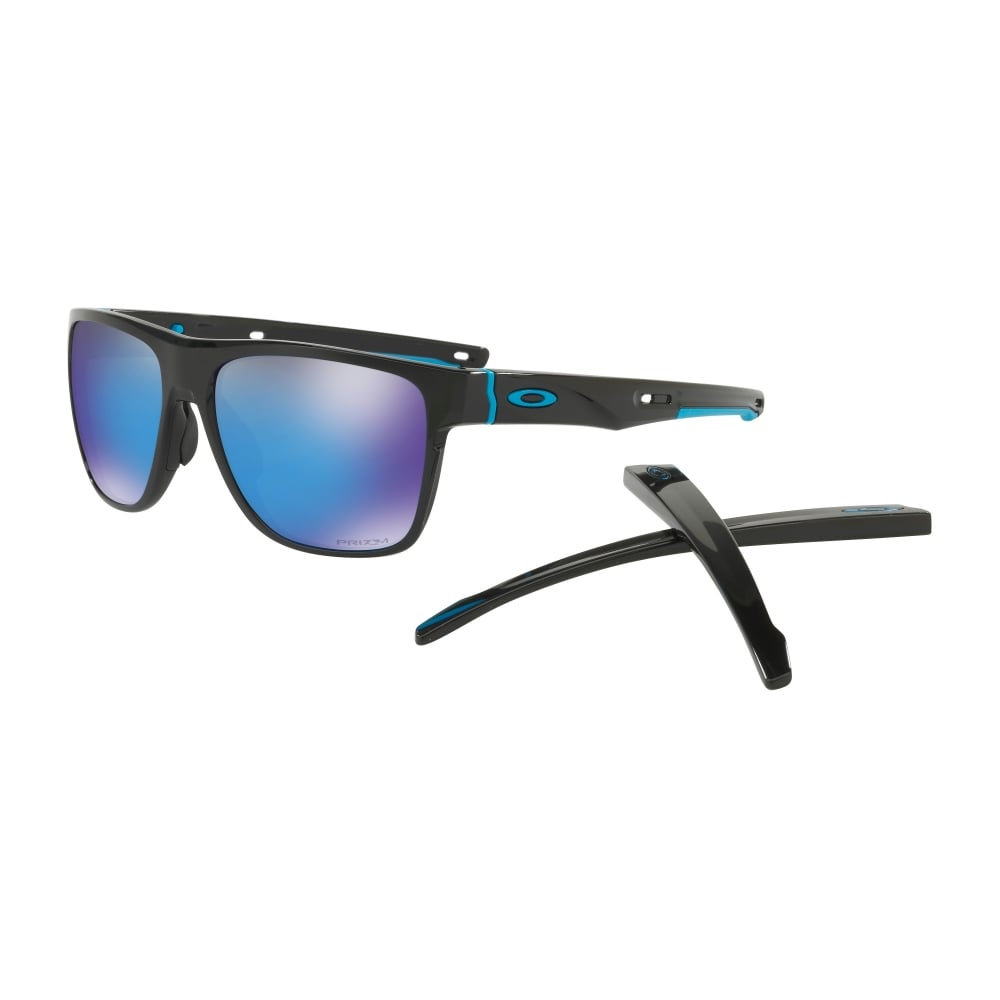 064fb1f948148 Oakley Prizm Crossrange XL Sunglasses Polished Black OO9360-13