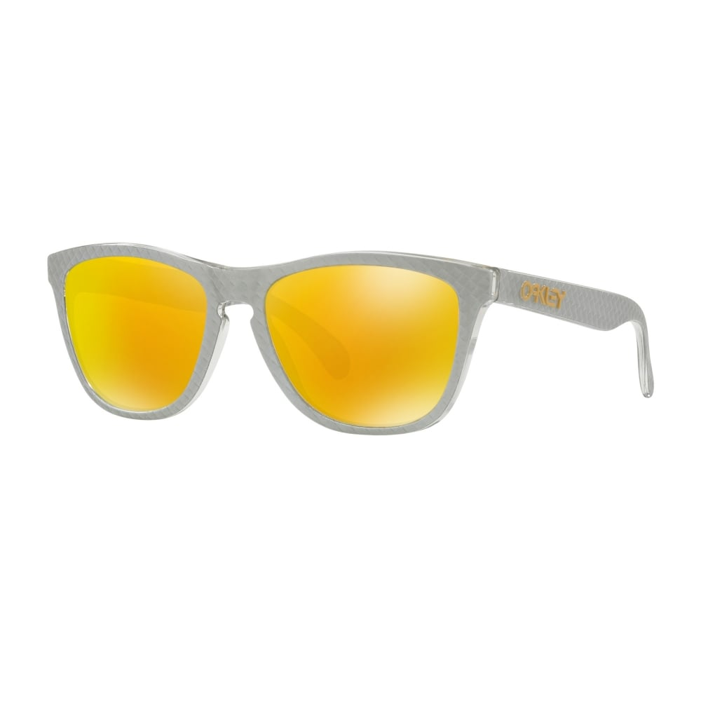 fe35980b758 Oakley Frogskins Sunglasses Checkbox Silver OO9013-C1
