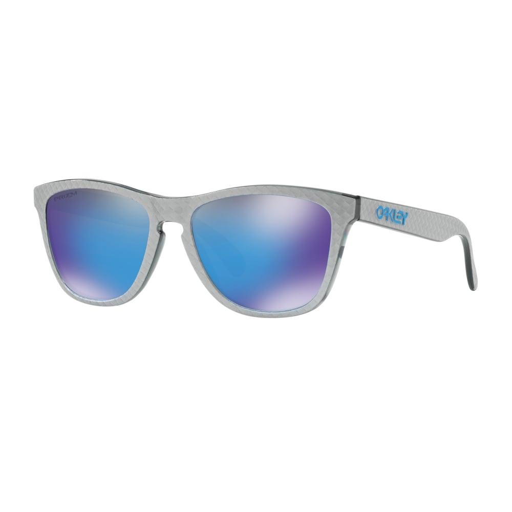 b86a2278ef Oakley Prizm Frogskins Sunglasses Checkbox Silver OO9013-C0