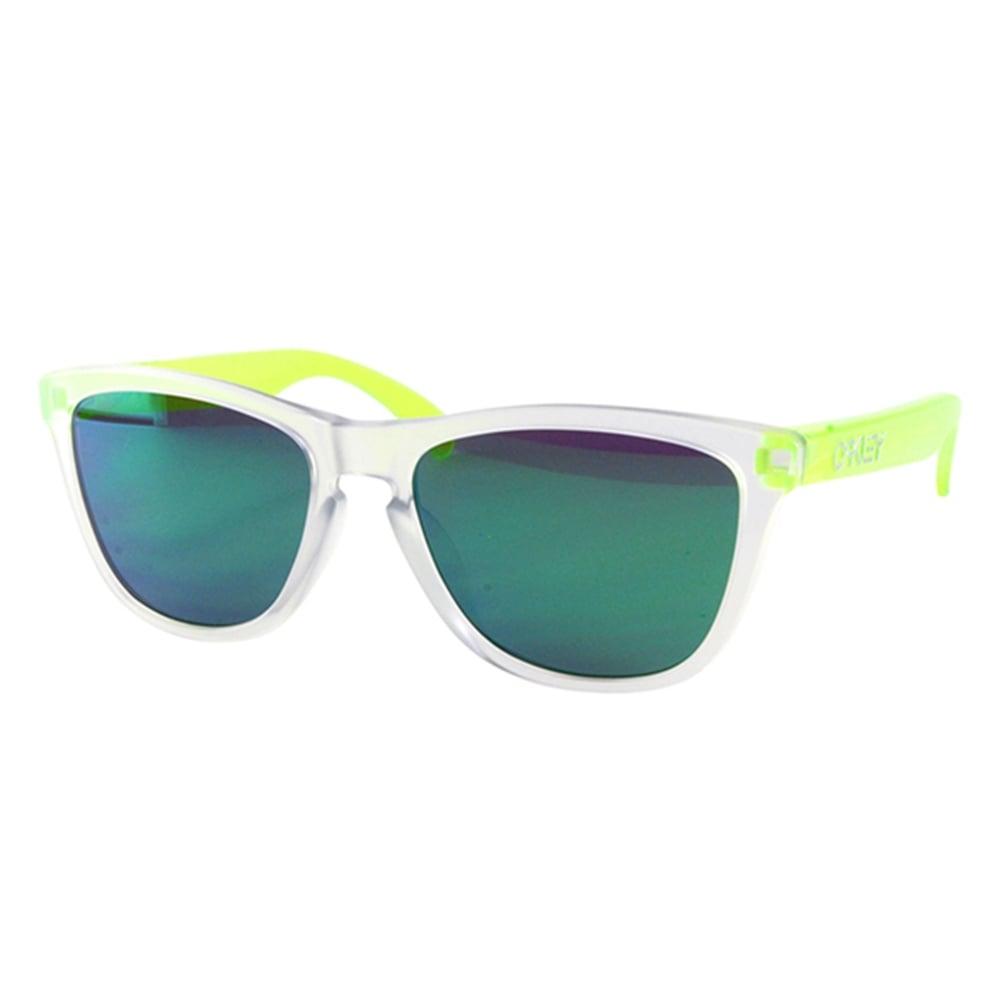 7c178320a5f Oakley Frogskin Sunglasses Matte Clear Matte Uranium OO9245-53