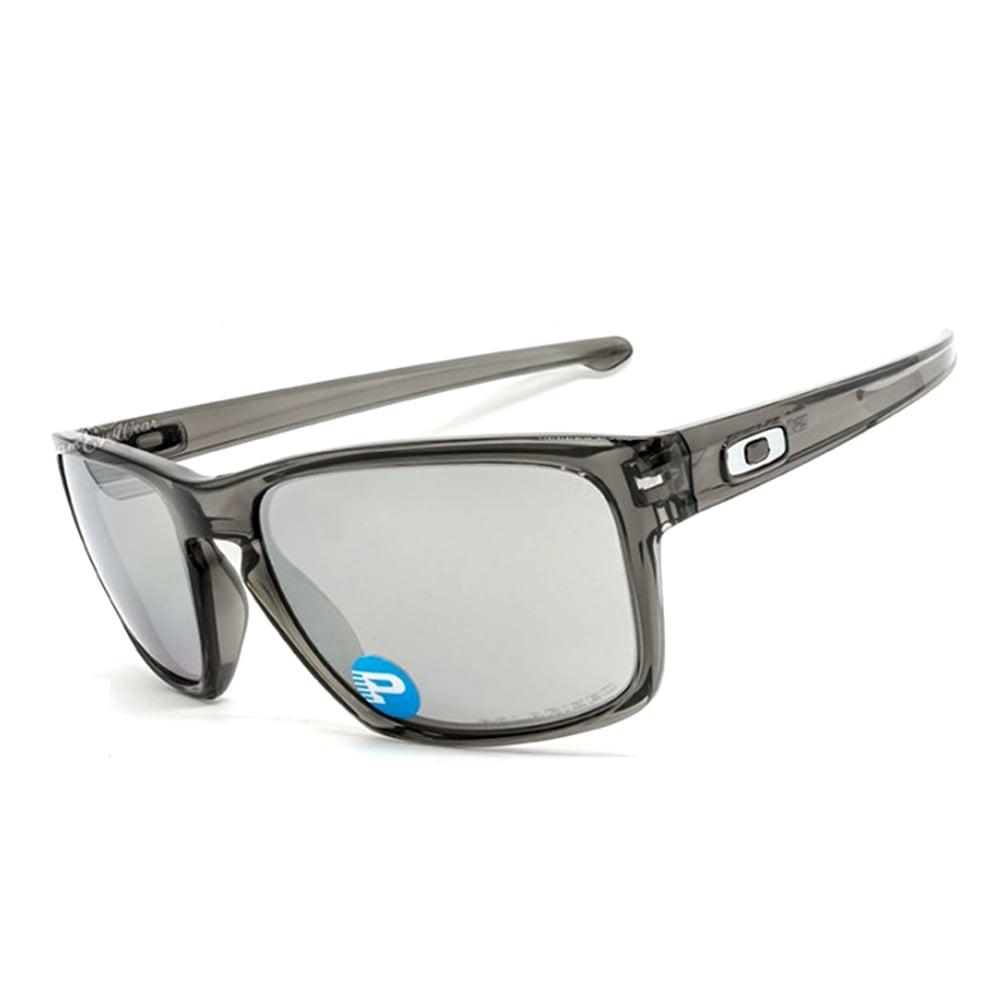 4a666ec8df5 Polarized Oakley Sliver Sunglasses Grey Smoke OO9262-13