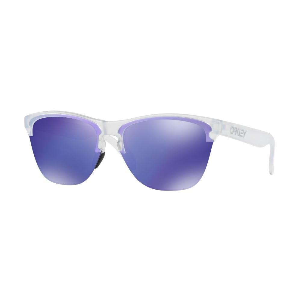 3f391f237f0 Oakley Frogskins Lite Sunglassses Matte Clear OO9374-03