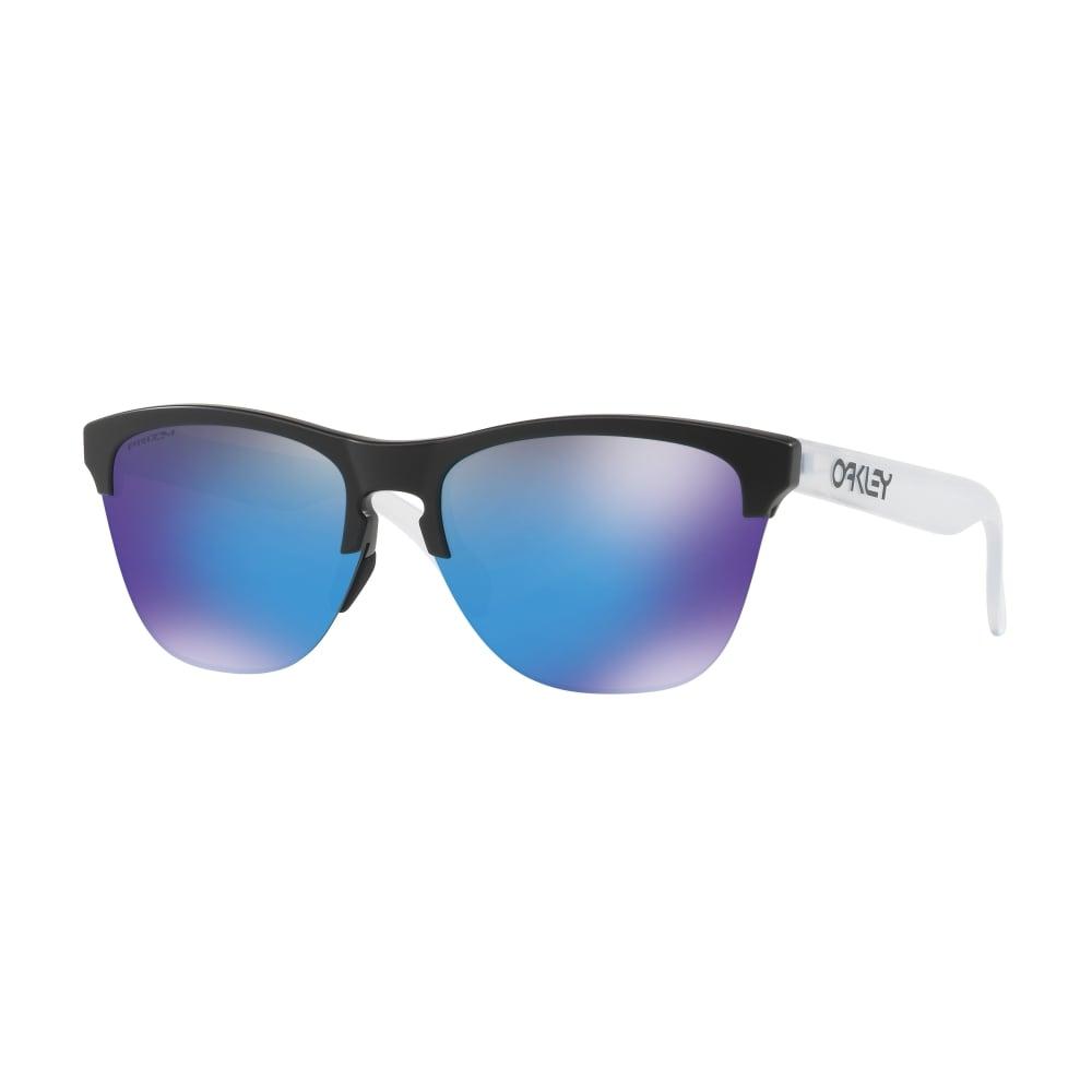 1f2e0ee95c21d Oakley Prizm Frogskins Lite Sunglassses Matte Black OO9374-02