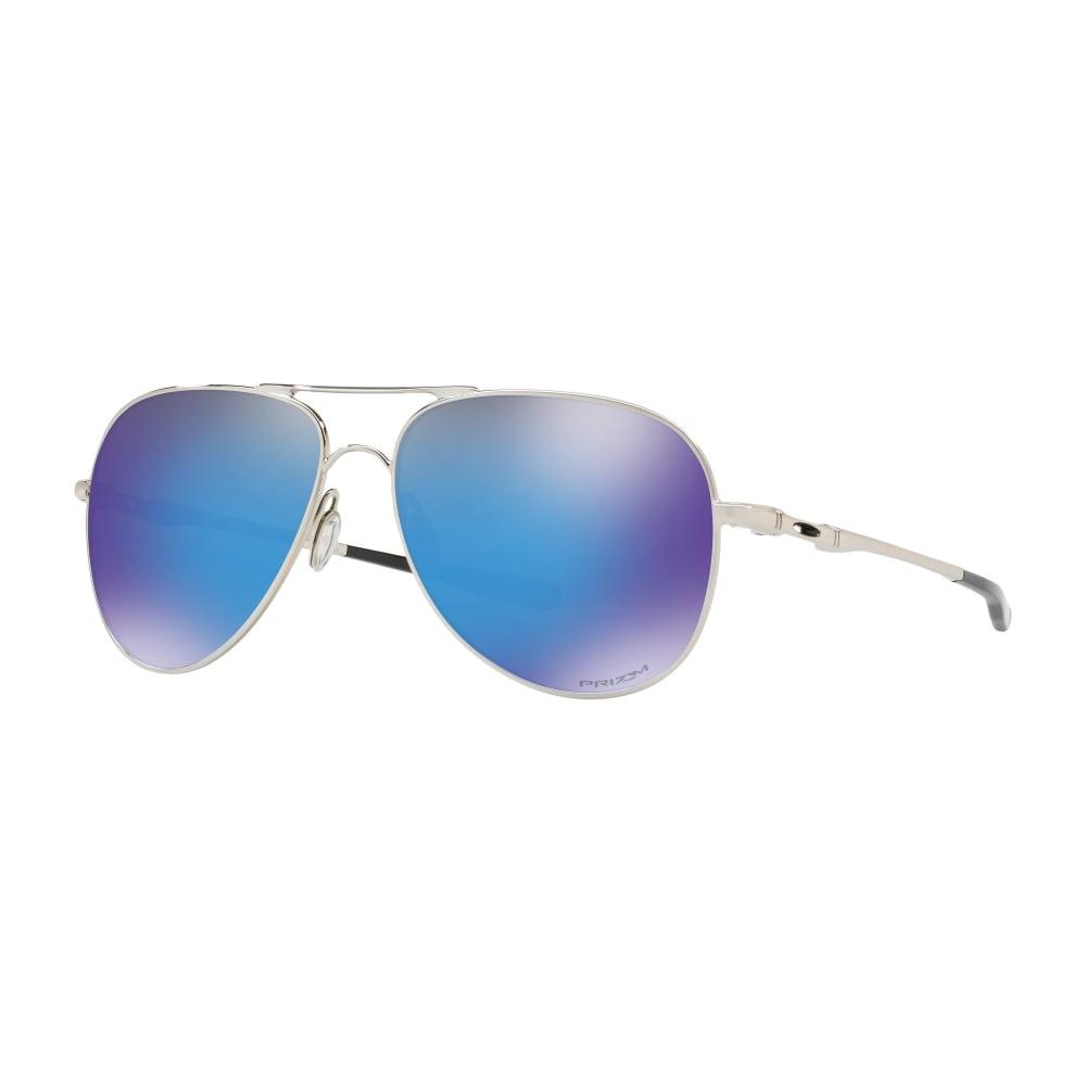 4c987309ae7 Oakley Prizm Elmont Sunglasses Polished Chrome OO4119-1058