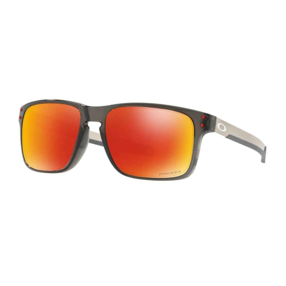 53b32f00f23 Polarized Oakley Prizm Holbrook Mix Sunglasses Grey Smoke OO9384-07