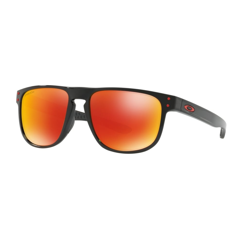 cc6d88e6d9 Polarized Oakley Prizm Holbrook R Sunglasses Polished Black OO9377-07