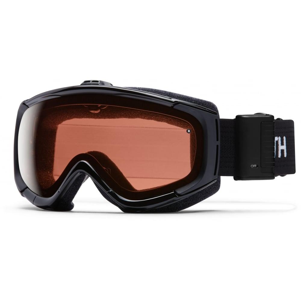 490bb91a4a9 Smith Optic Phenom Turbo Fan Snow Goggles Black M00632ZW9998K