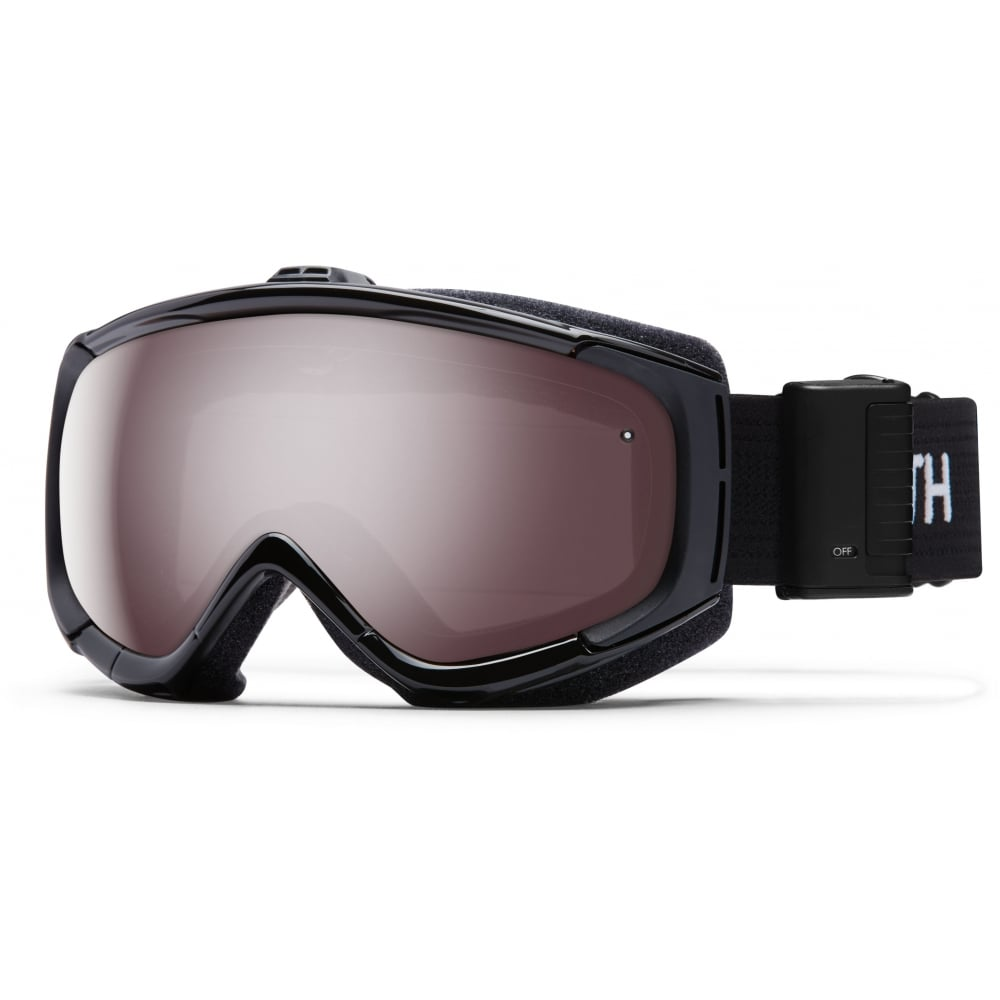 Smith Phenom Turbo Fan Snow Goggles Black M00632zw9994u