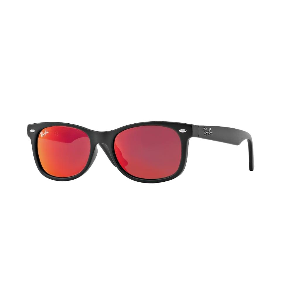 738e062092c Ray-Ban Wayfarer Junior Sunglasses Matte Black RJ9052S 100S6Q