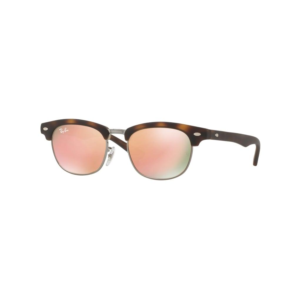 Ray-Ban Junior RJ9050S Sonnenbrille Mattes Tortoise 70182Y 45mm Kqa37
