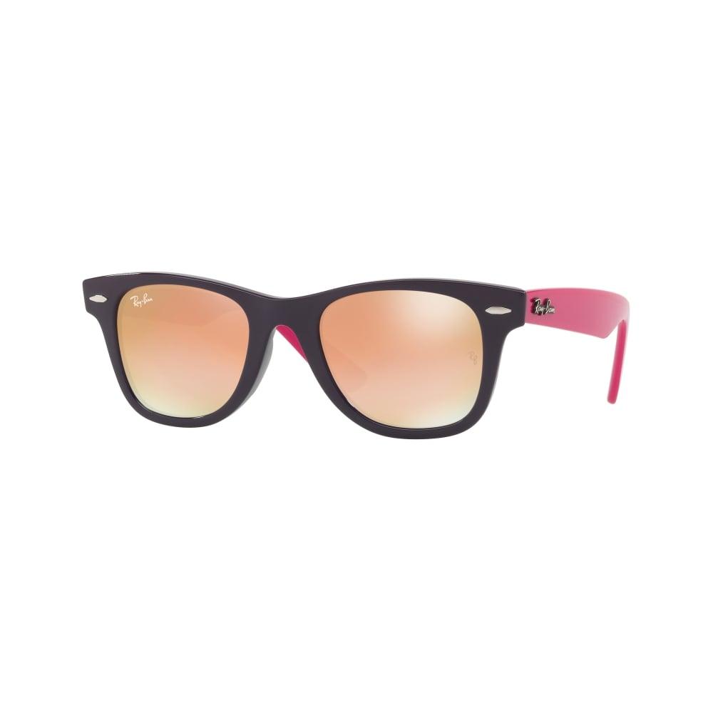 cf460c1ecff Ray-Ban Wayfarer Youth Sunglasses Violet RJ9066S 7021B9