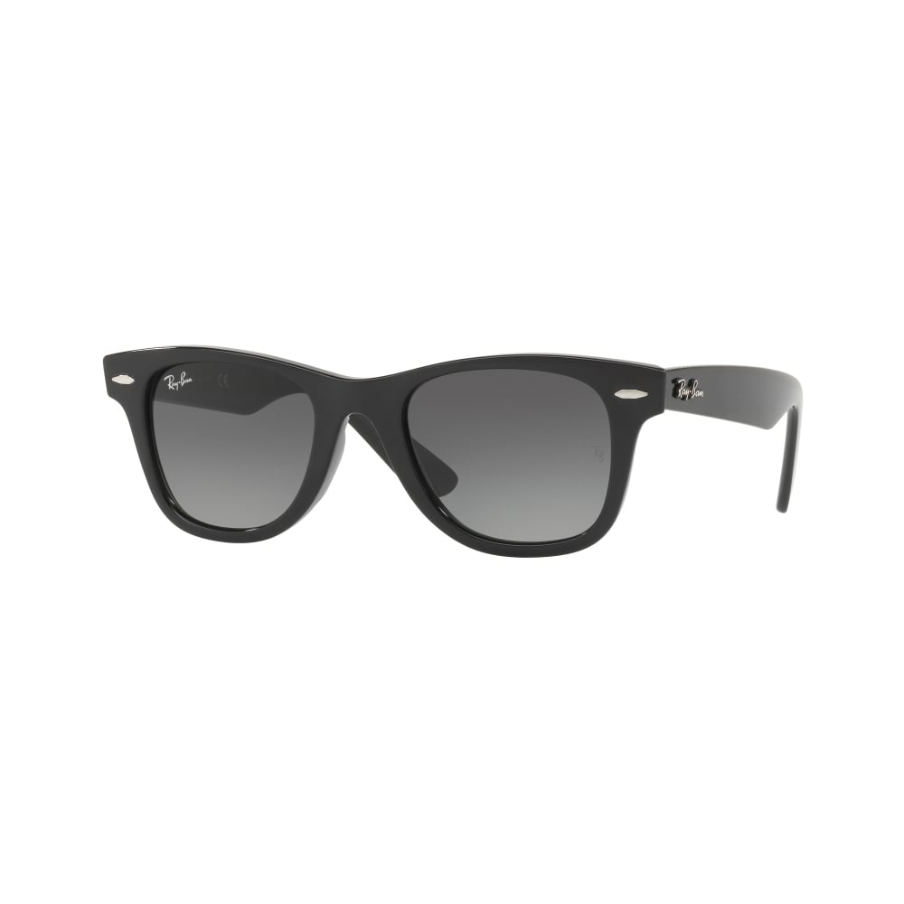 ebc885e7ee6daf Ray-Ban Wayfarer Youth Sunglasses Black RJ9066S 100 11