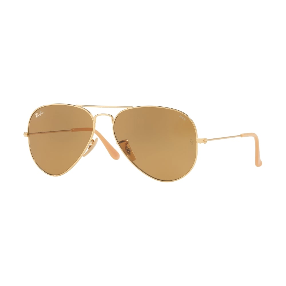 b4fdfaa0ef8 Ray-Ban Aviator Evolve Sunglasses Gold RB3025 90644I