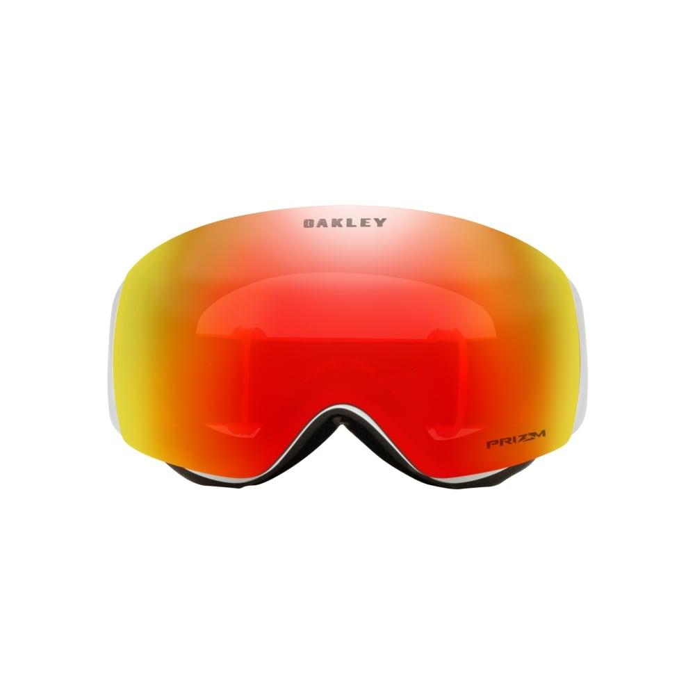 07da50af8cf Prizm Oakley Flight Deck XM Snow Goggles Matte White OO7064-24