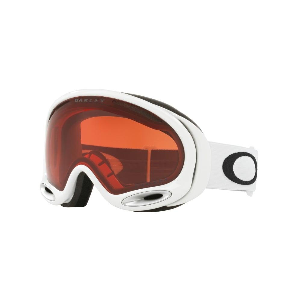 Prizm Oakley A Frame 2 0 Snow Goggles Polished White 59 747
