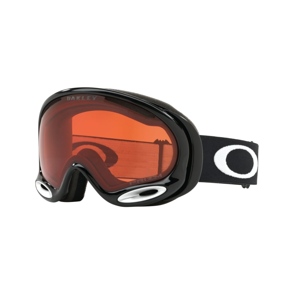 f55c42fc510d Prizm Oakley A Frame 2.0 Snow Goggle Jet Black OO7044-02