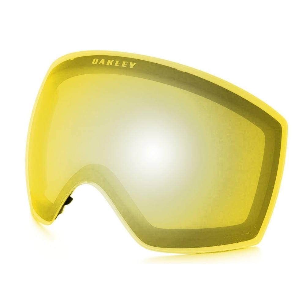 110152f9b222 Oakley Flight Deck XM Snow Goggle Replacement Lens HI Yellow 101-104-002