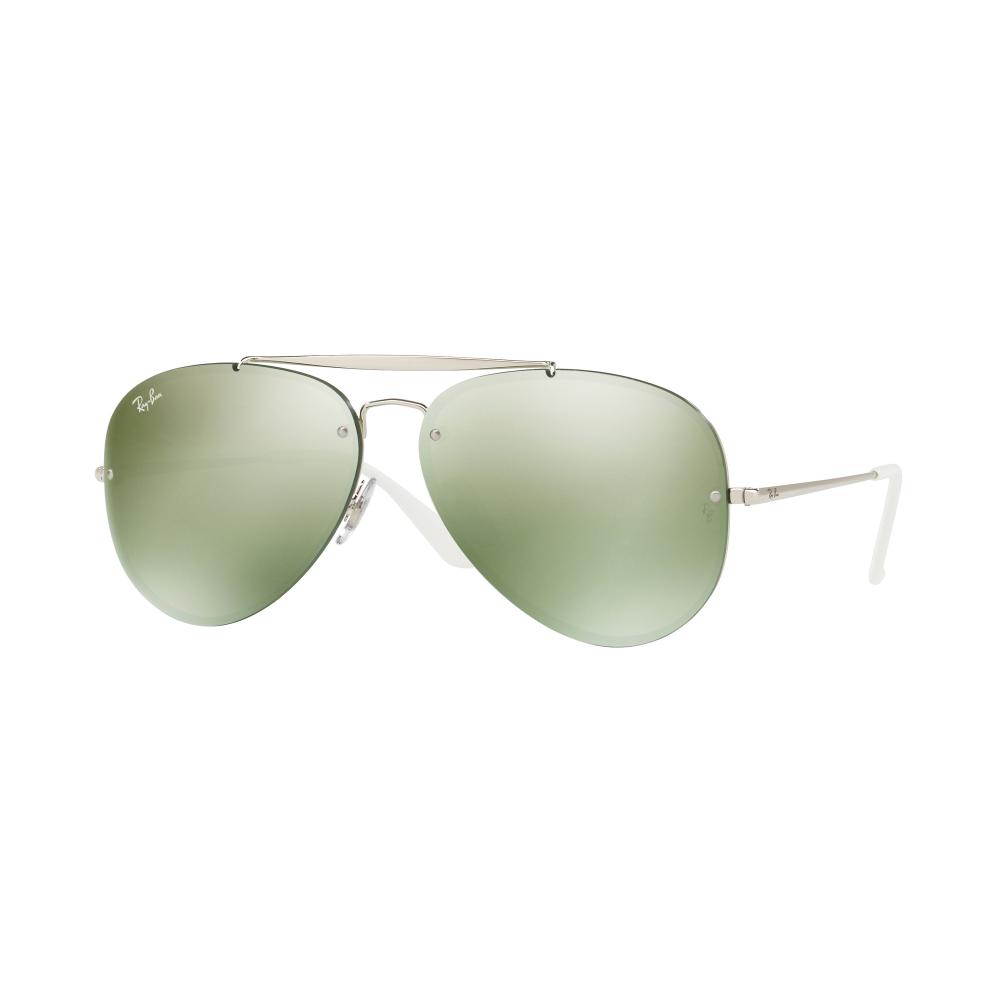 Ray-Ban Blaze Sonnenbrille Silber 905130 58mm fimOiZNevV
