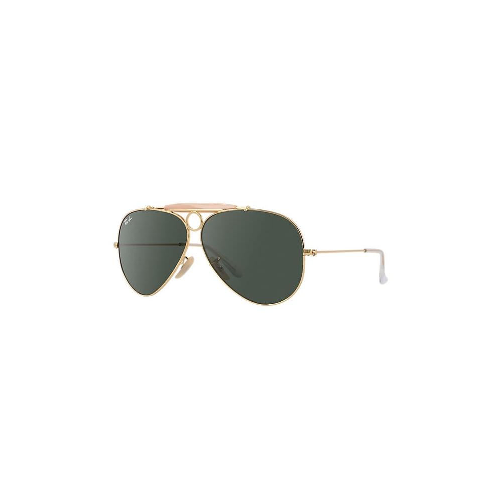 da56d7b7deb Ray-Ban Shooter Sunglasses Gold RB3138 001