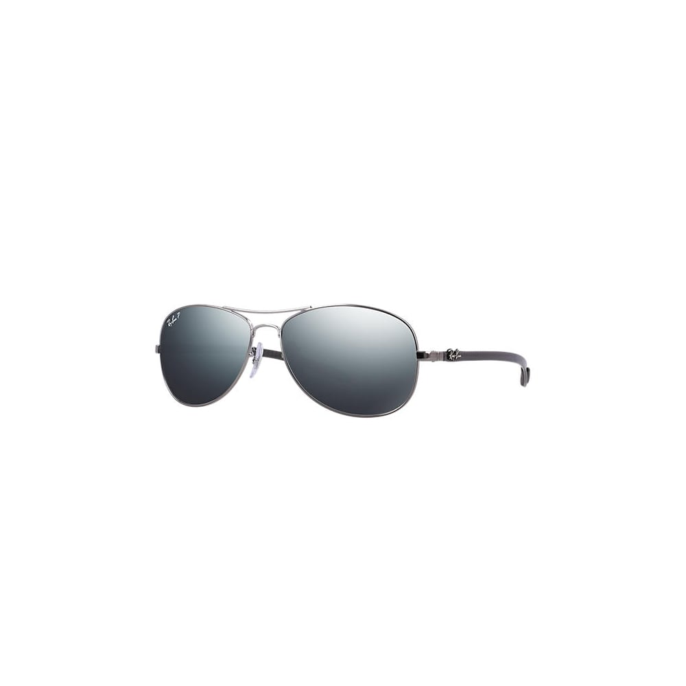 9c533e143f8 Polarized Ray-Ban RB8301 Sunglasses Gunmetal RB8301 004 K6 Small