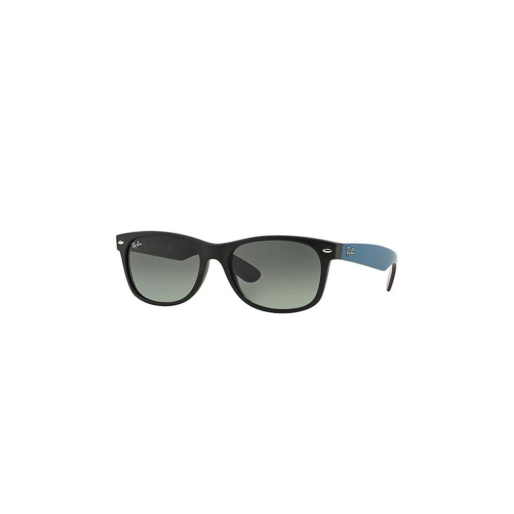 adb26eb9f Ray-Ban New Wayfarer Sunglasses Matte Black RB2132 618371