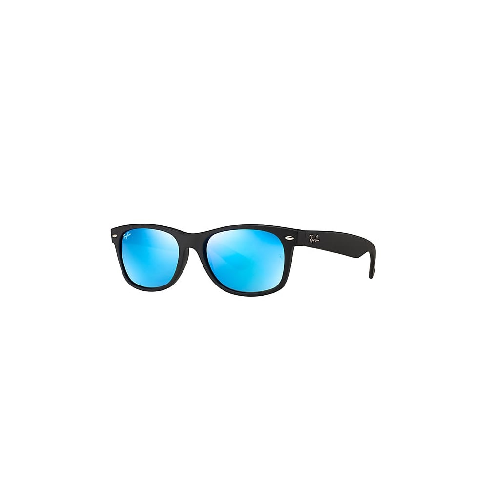 45f51d1f8 Ray-Ban New Wayfarer Sunglasses Black Rubber RB2132 622/17