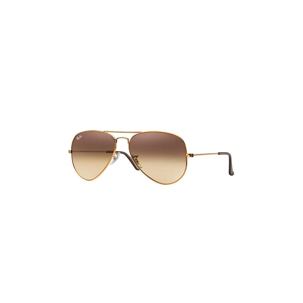 d6ed173fba0 Ray-Ban Aviator Sunglasses Bronze-Copper RB3025 9001A5 Small