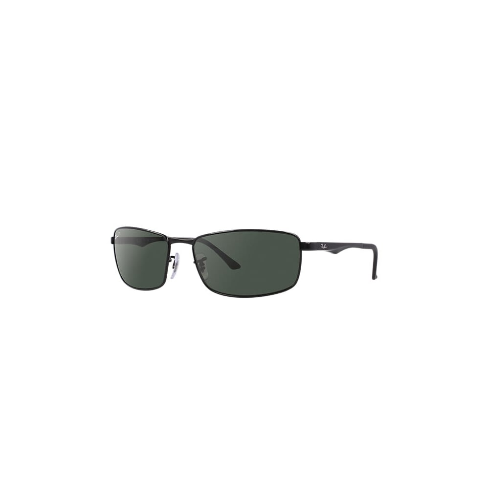 226d233014 Polarized Ray-Ban RB3498 Sunglasses Black RB3498 002 9A Large