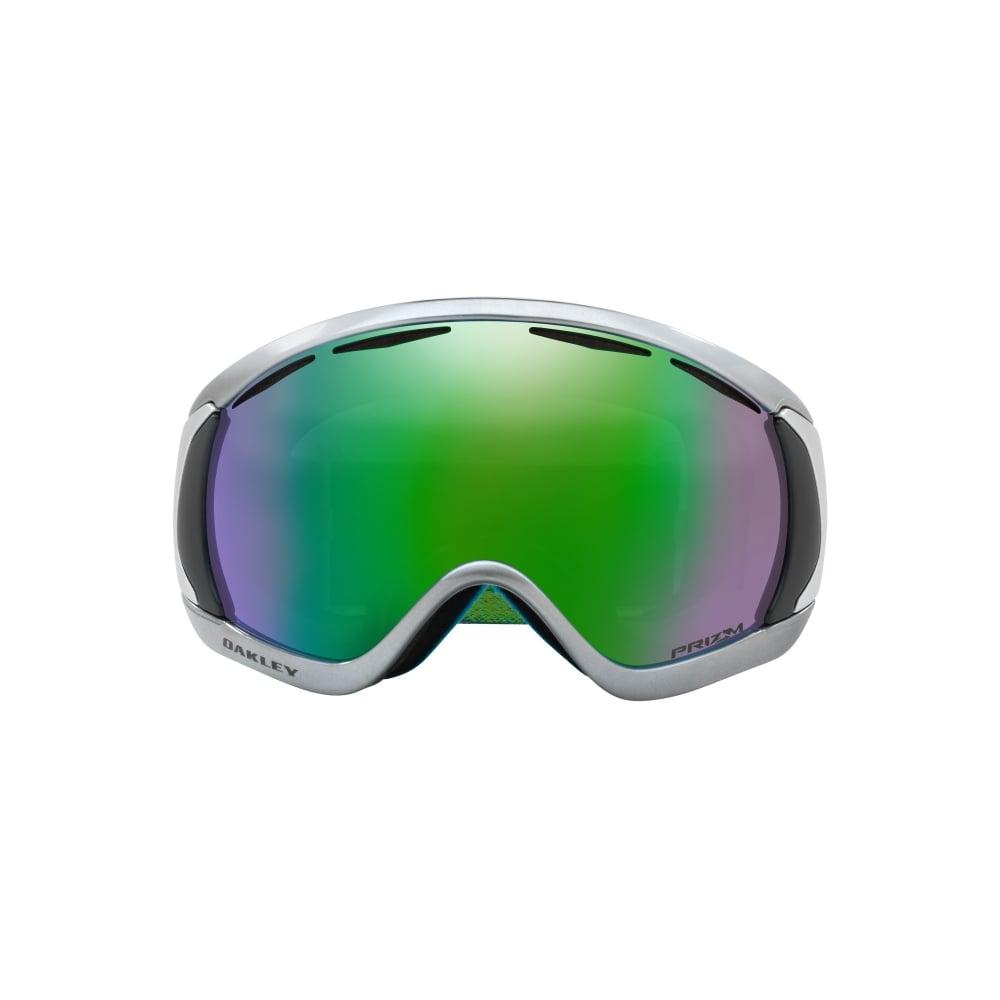 1a71bdde062 Oakley Prizm Canopy Snow Goggles Black Chrome OO7047-73