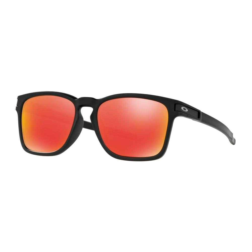 Oakley Latch Squared >> Oakley Latch Squared Sunglasses Matte Black OO9358-03A