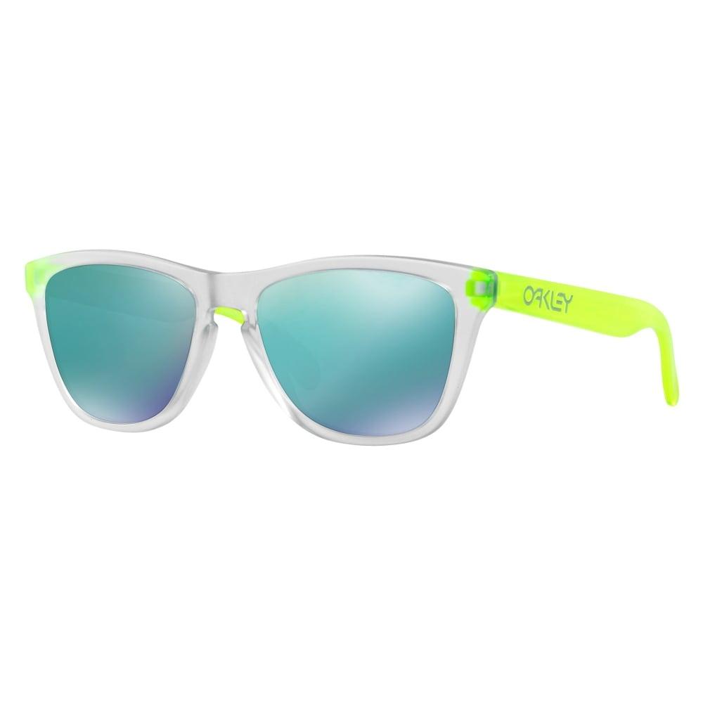dd9e9f8eedf93 Oakley Frogskins Sunglasses Matte Clear OO9245-53A
