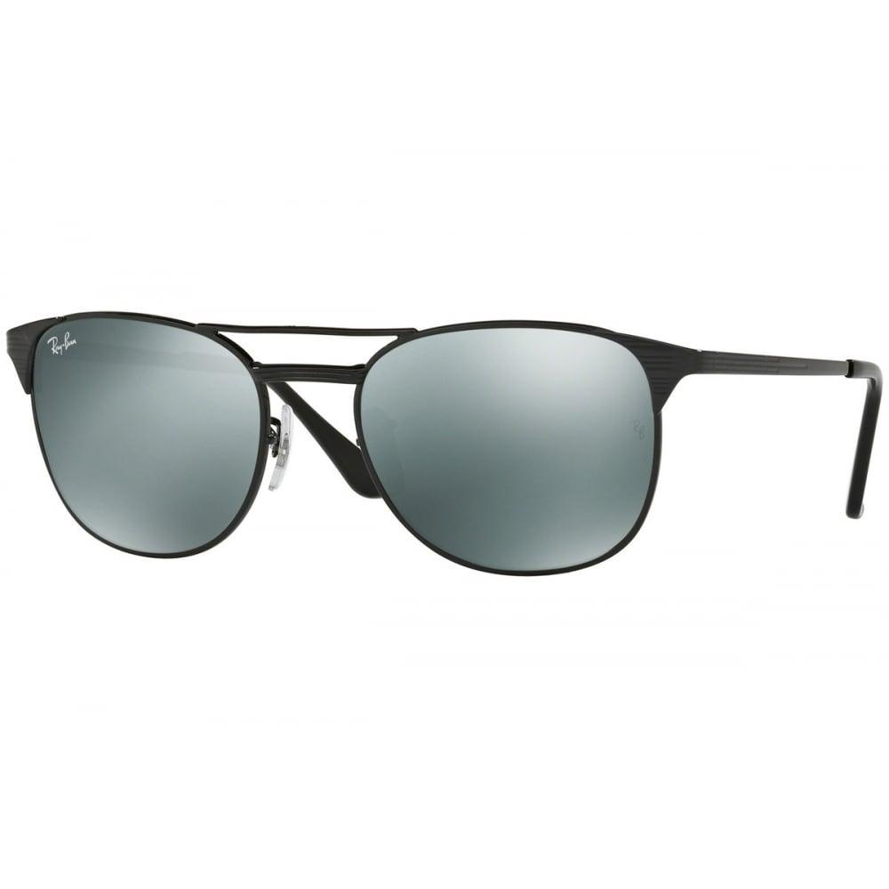 0c82eddd7f5 Ray-Ban Signet Sunglasses Black RB3429M 002 40