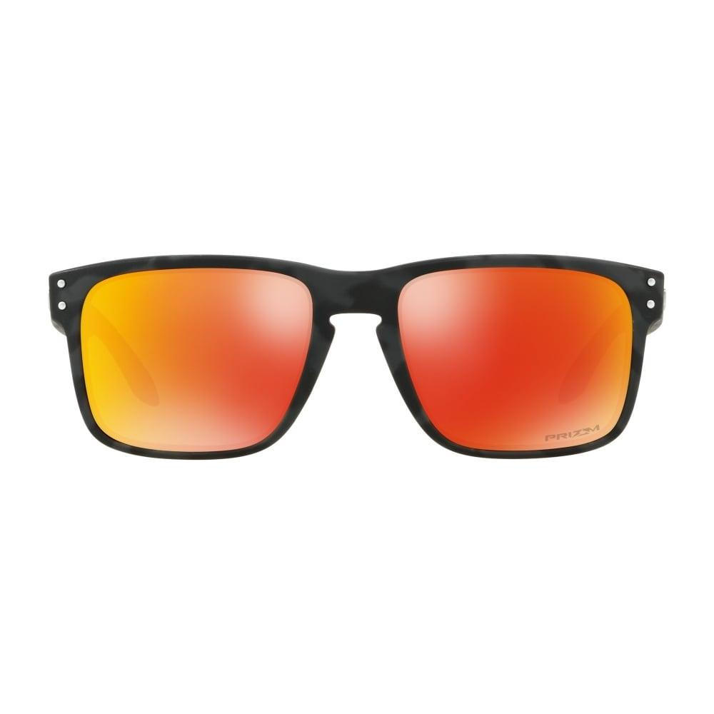 Oakley Prizm Holbrook Sunglasses Black Camo OO9102-E9 68361a6111