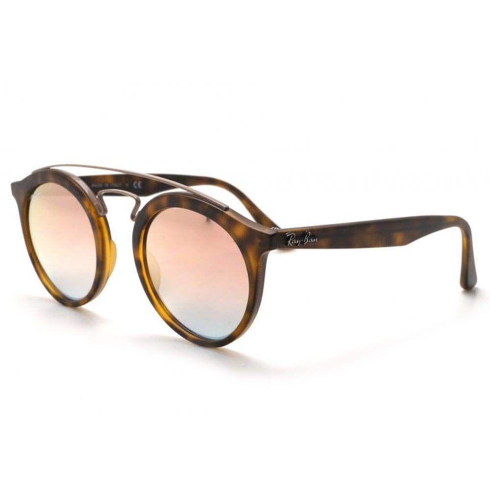 3c4ff1ad73c Ray-Ban RB4256 Gatsby 1 Sunglasses Matte Tortoise RB4256 6267B9 Large