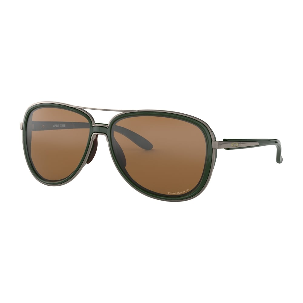 d2913797a8 Oakley Prizm Split Time Sunglasses Forest OO4129-08