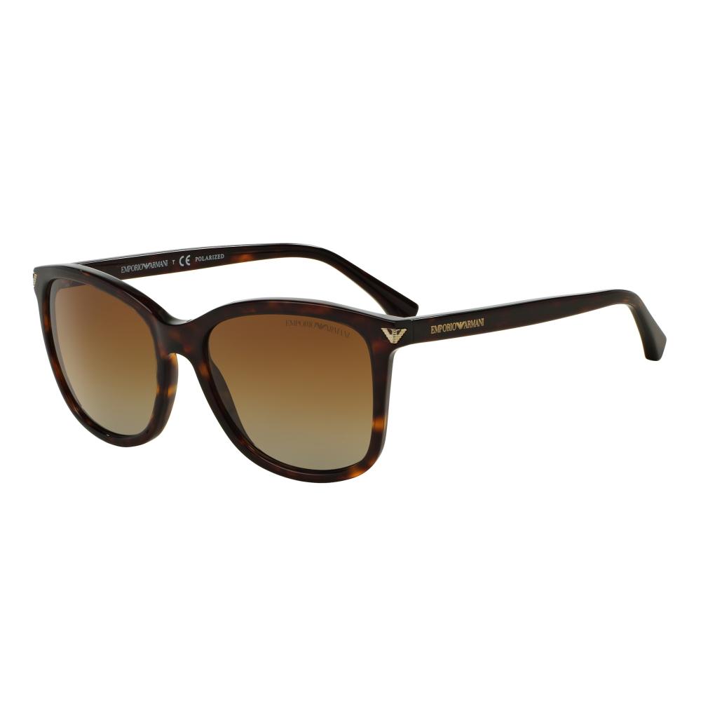 Emporio Armani EA4060 Sonnenbrille Tortoise 5026T5 Polarisiert 56mm YA8LhpxF6W