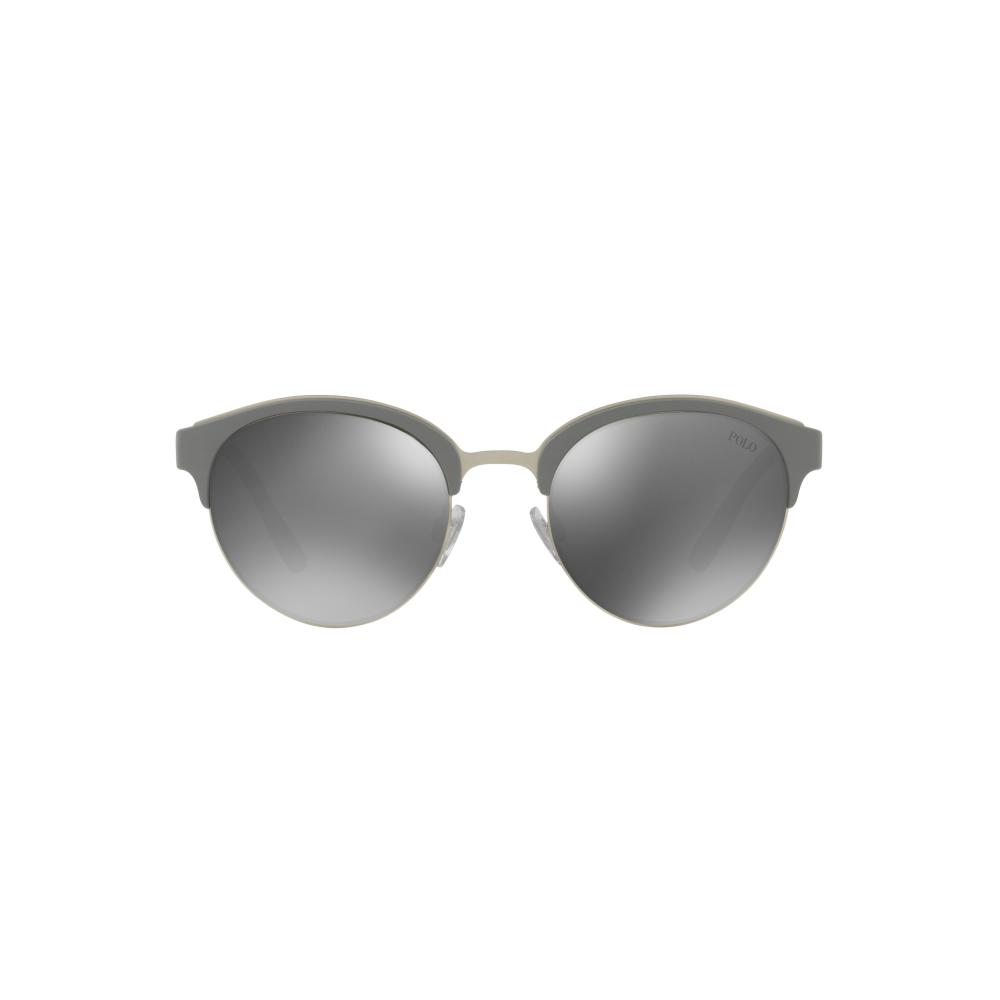 8ebad59629 Polo Ralph Lauren PH4127 Sunglasses Matte Silver PH4127 56426G