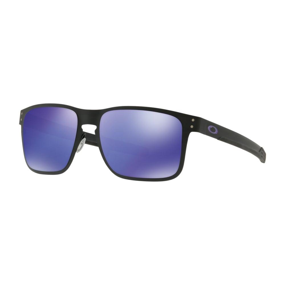 8676a99c115 Oakley Holbrook Metal Sunglasses Matte Black OO4123-14