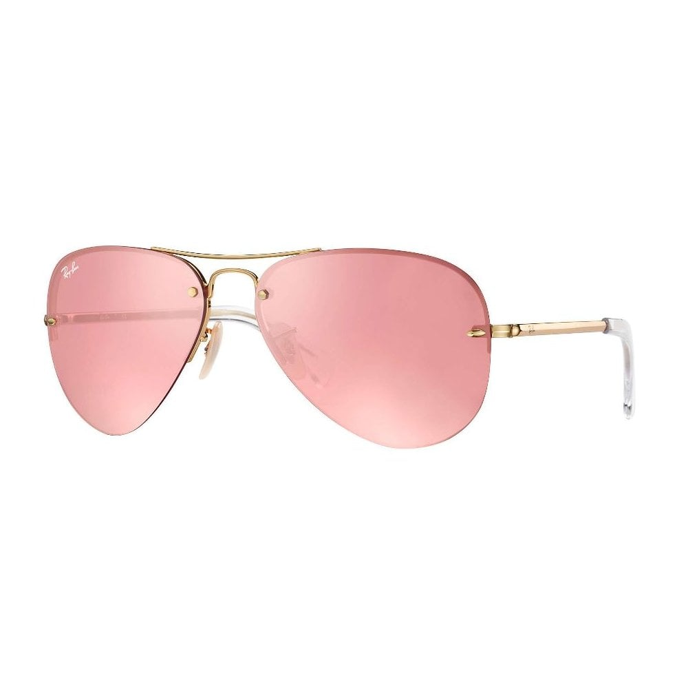 Ray-Ban RB3449 Sonnenbrille Gold 001/E4 59mm WcTZ16
