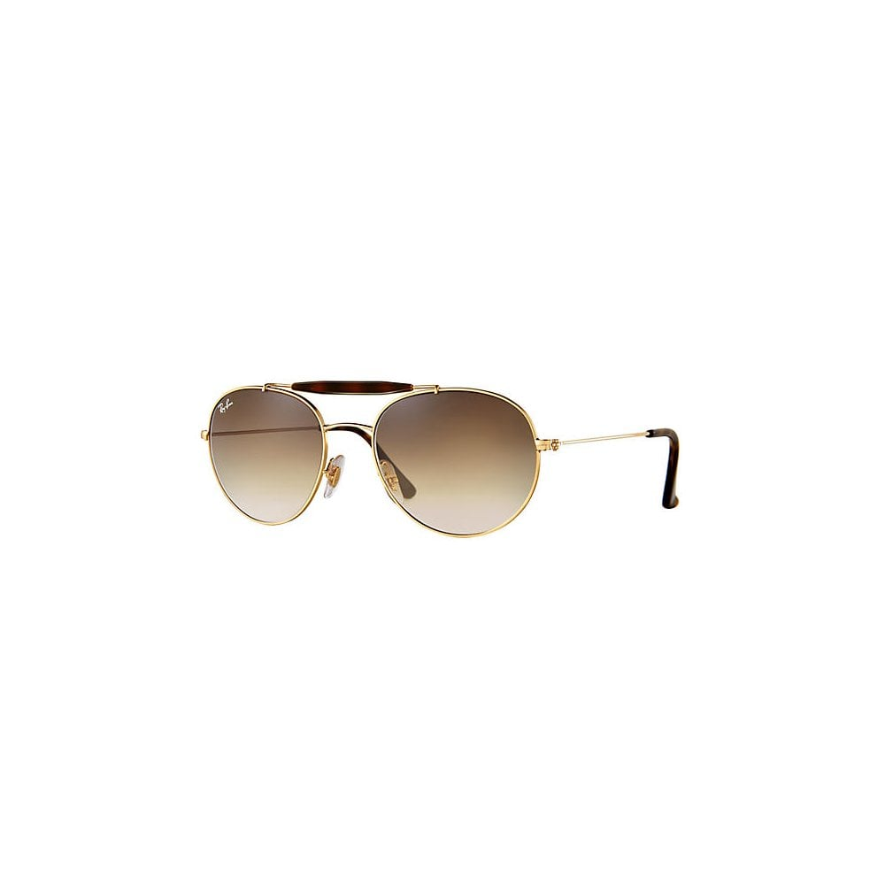 cb4affed83 Ray-Ban RB3540 Sunglasses Gold RB3540 001 51 Small