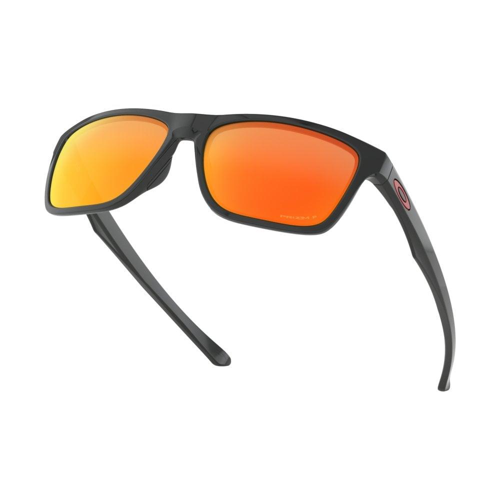 Polarized Oakley Prizm Holston Sunglasses Polished Black OO9334-12 88a8f4bf71de