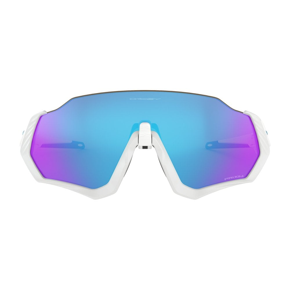 99130ea0685 Oakley Prizm Flight Jacket Sunglasses Polished White OO9401-02
