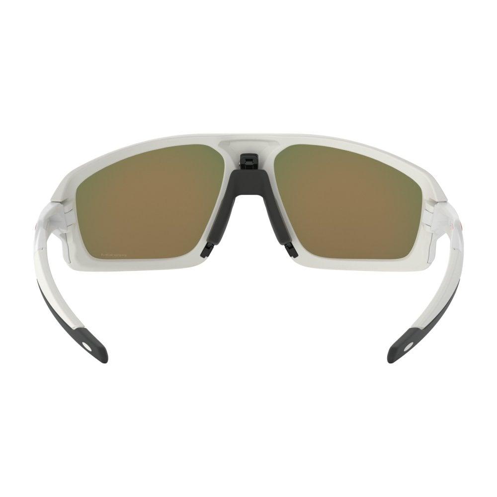 620b446fad34e Oakley Prizm Field Jacket Sunglasses Matte White OO9402-02