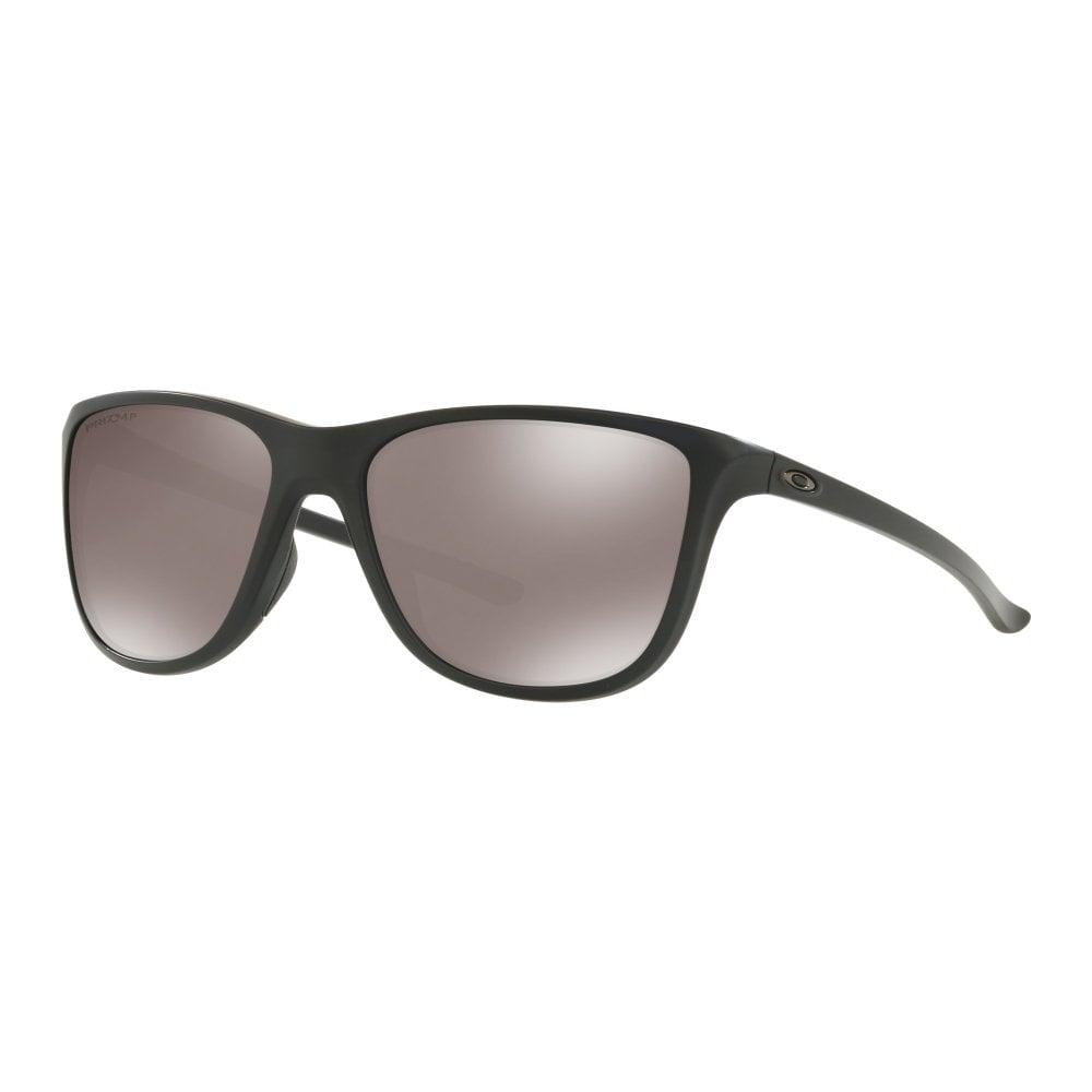 7bec7d55018 Polarized Oakley Prizm Reverie Womens Sunglasses Matte Black OO9362-08