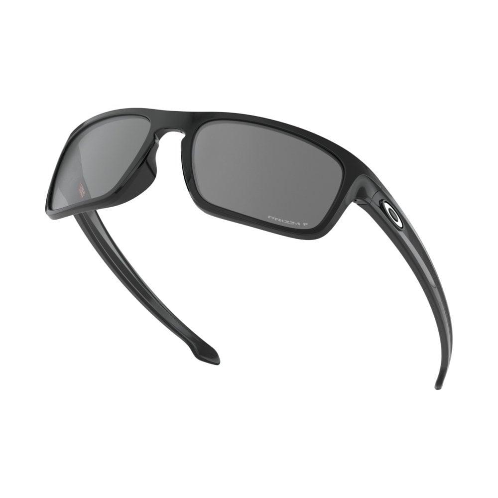 41de8c1b8d2 Polarized Oakley Prizm Sliver Stealth Sunglasses Polished Black ...
