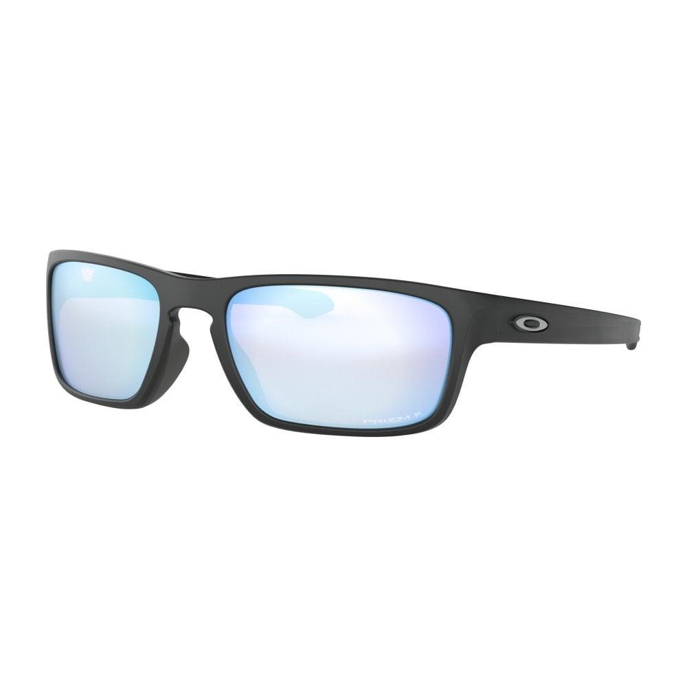 4441bb0e45f Polarized Oakley Prizm Sliver Stealth Sunglasses Matte Black OO9408-07