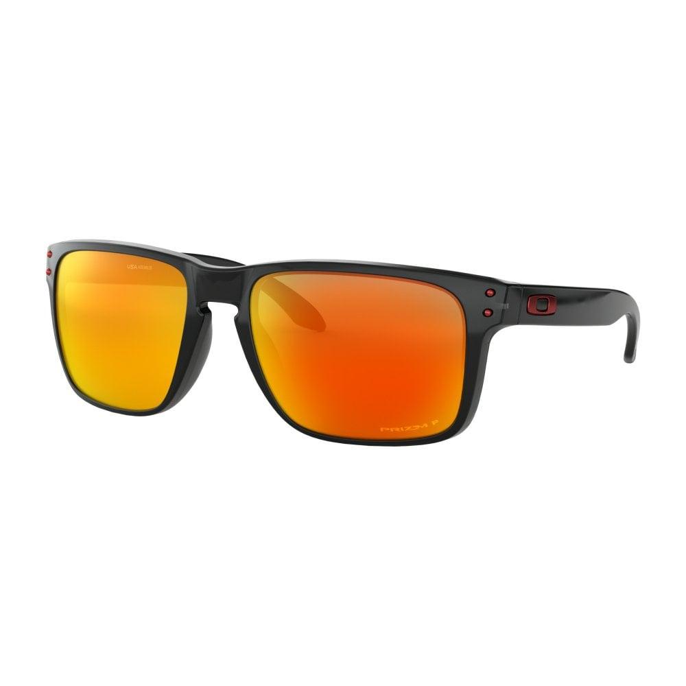 fa194e85d4 Polarized Oakley Prizm Holbrook XL Sunglasses Black Ink OO9417-08