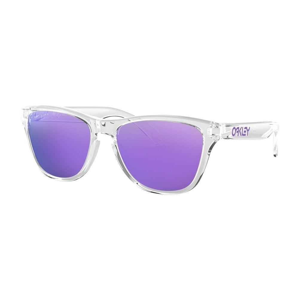 4fb15ddf13c Oakley Frogskins XS Youth Sunglasses Polished Clear OJ9006-03