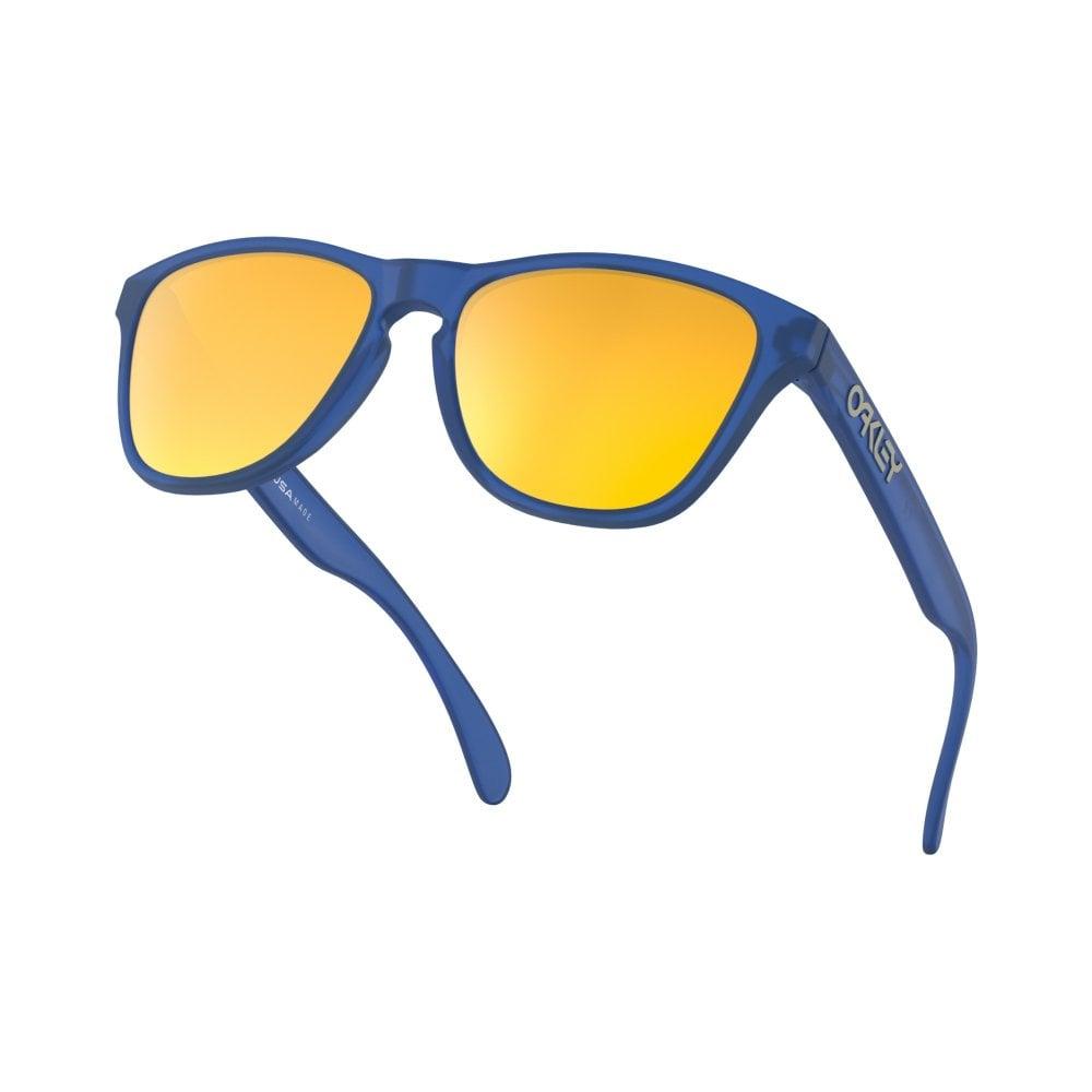 02ab2f70e0b Oakley Frogskins XS Youth Sunglasses Matte Sapphire OJ9006-04